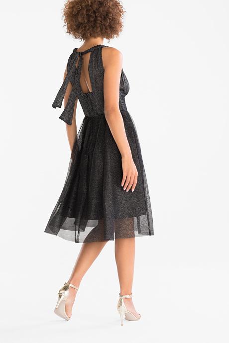 Yessica - Fit & Flare šaty - lesklé - slavnostní C&A